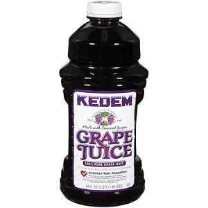 CASE Of Grape Juice Bottles (8 x 64 Oz)