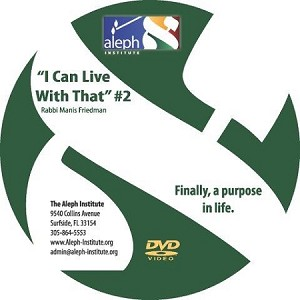 I Can Live With That DVD #2